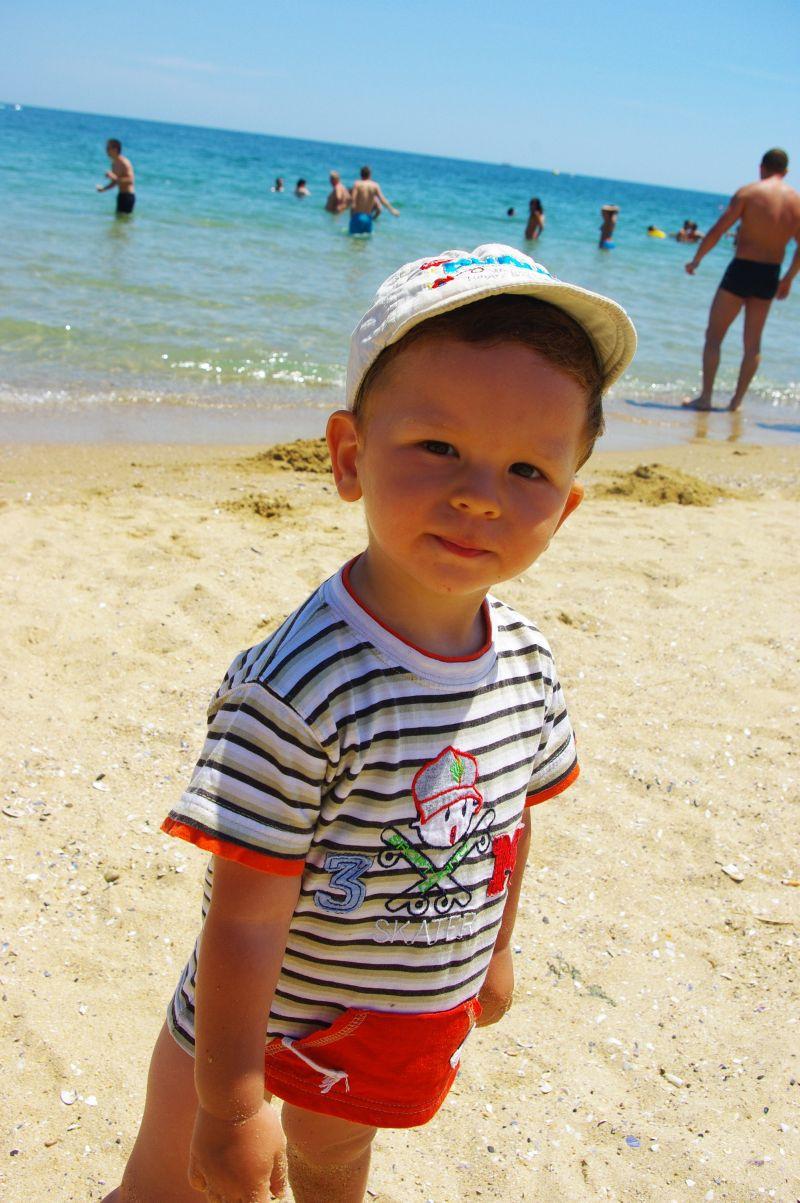 илиян на плажа